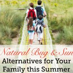 natural bug repellent sunscreen and aftersun care
