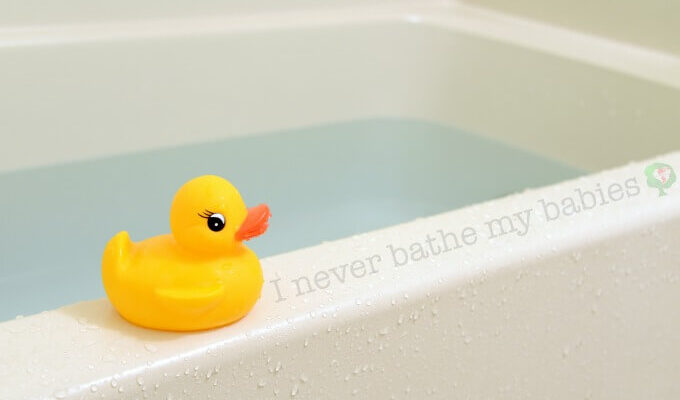Why you should delay the newborn bath and why daily or even routine infant bathing is not necessary.