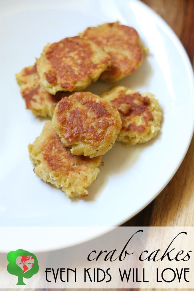 Homemade crab cake patties