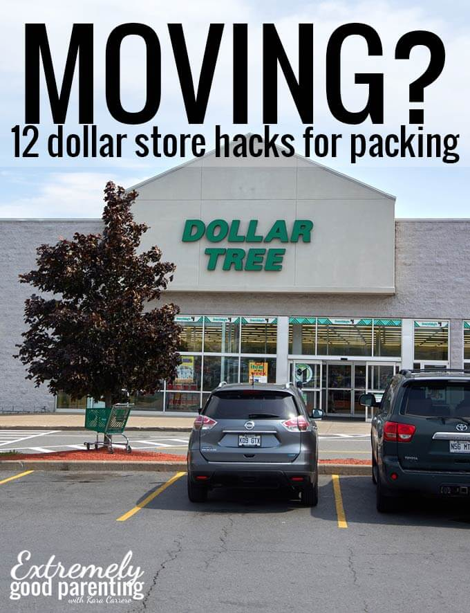 How To Easily Move And Pack On A Dollar Store Budget