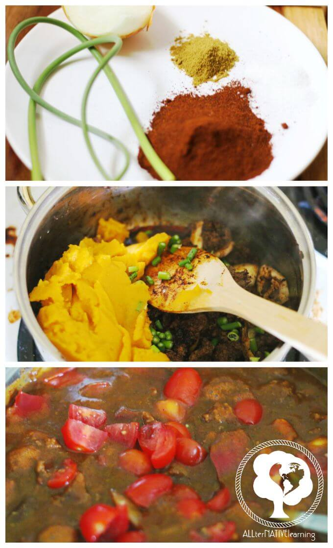 homemade vegtable chili ingredients that are kid friendly and nutritious