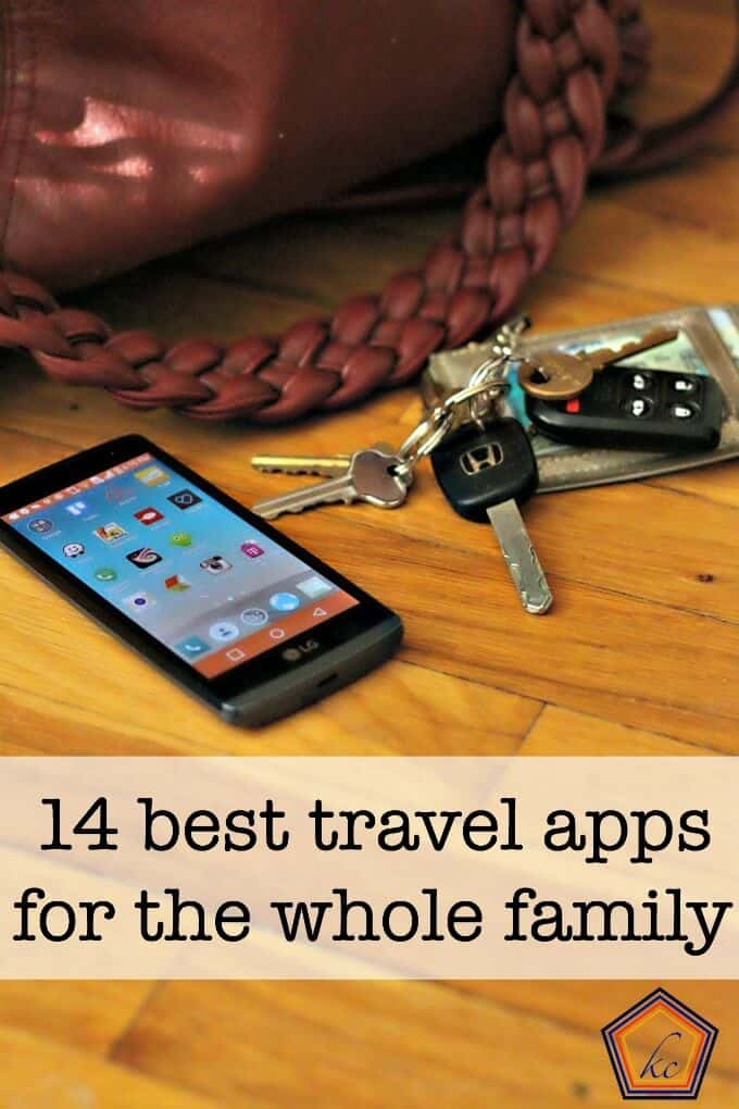 14 best apps for vacation and family travel