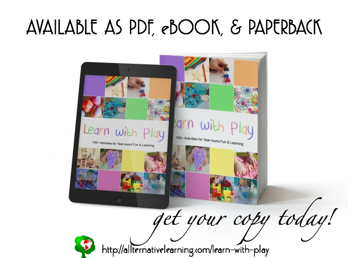 But the learn with play book from the kid blogger network - it's worth the money!