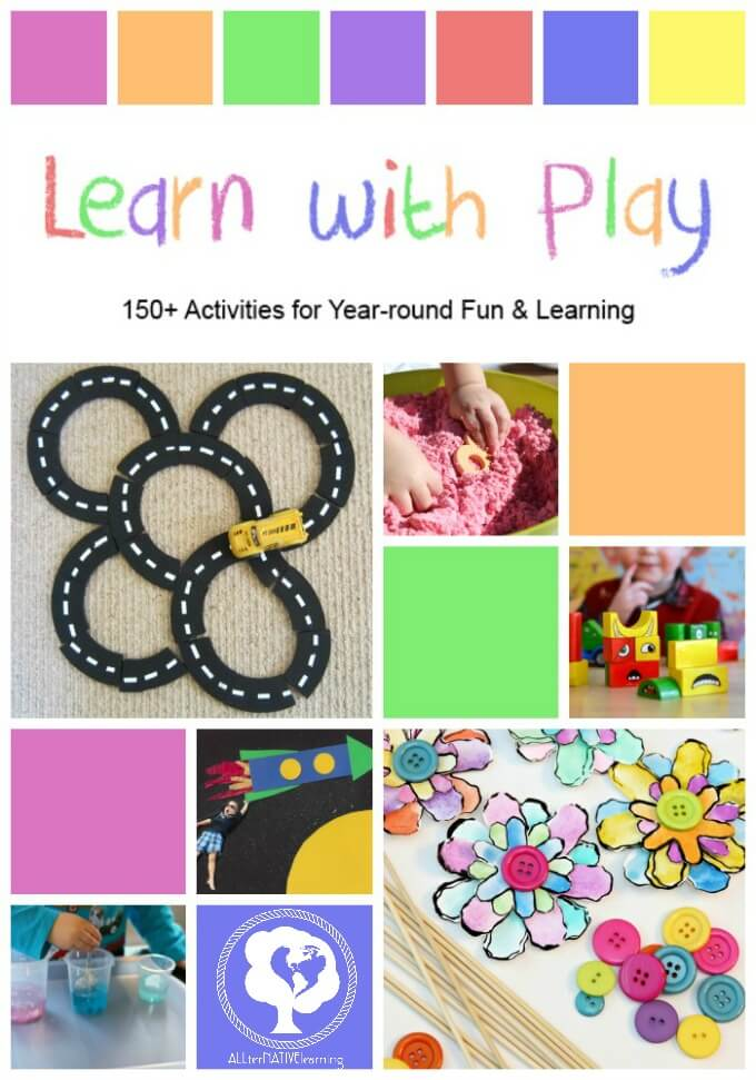 Learn with Play book - everything you need to entertain and teach a child from birth to school age!