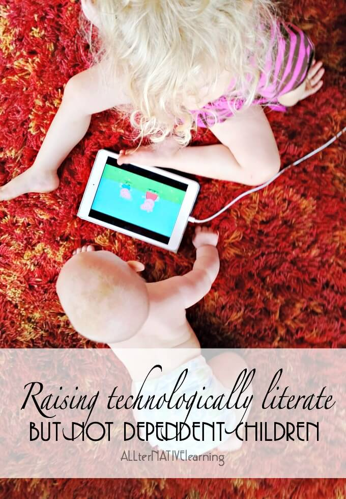 Should you allow your babies to watch TV or play with devices? How do you find a a good balance of play and technology?