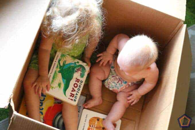 "Books that toddlers can ""read"" to their siblings"
