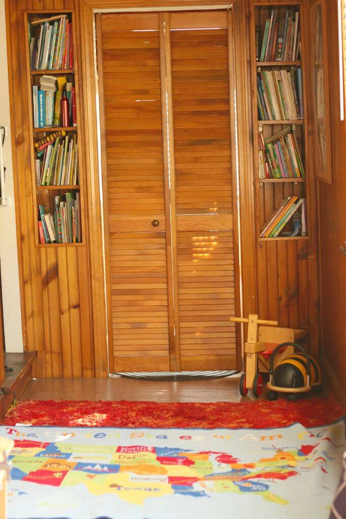 Why you should redecorate an enclosed porch if you have it to make it a functional playroom