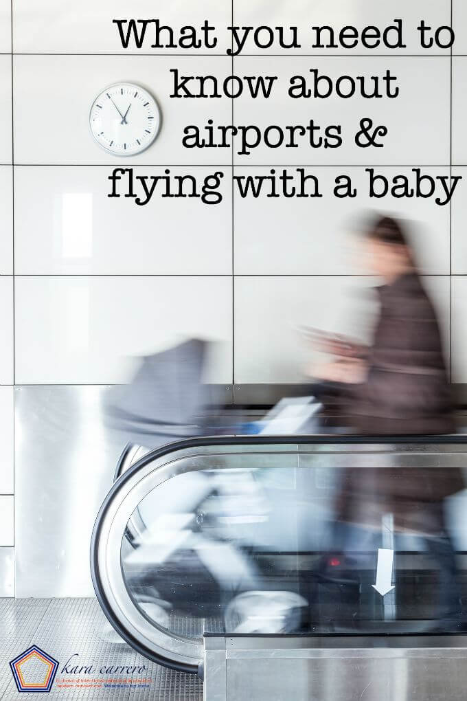 How to manage flying with a baby - a guide on navigating the airport and airplanes