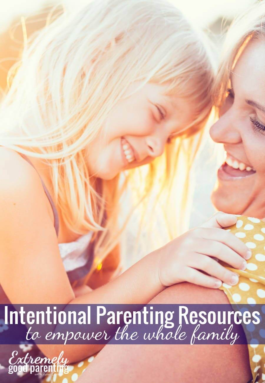 Practical and Intentional Parenting resources. Everything you need to know for raising kids 0-18. Toddlerhood, tween years, and more.