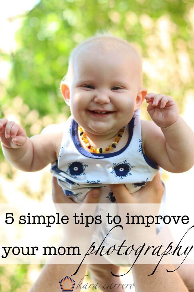 Five simple photography tips for moms of little ones