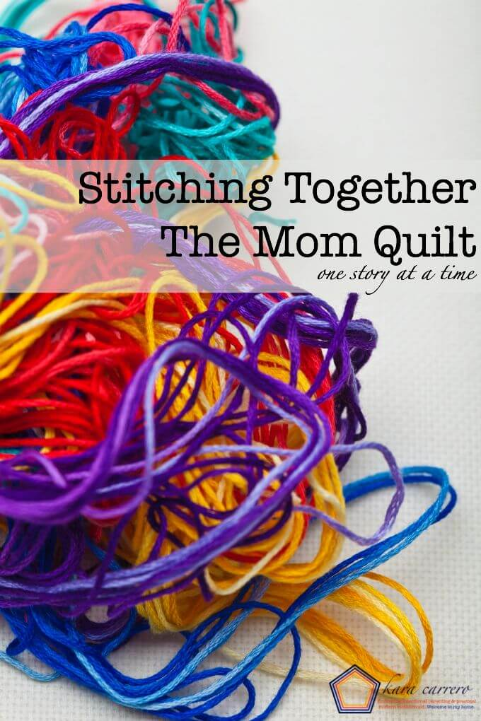 The Mom Quilt - ebook full of stories from every season of motherhood. A Great ministry to moms as well as supporting overseas missions.