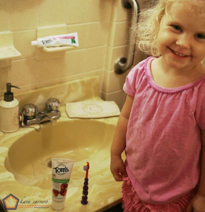 Silly suction cup toothbrush for toddlers