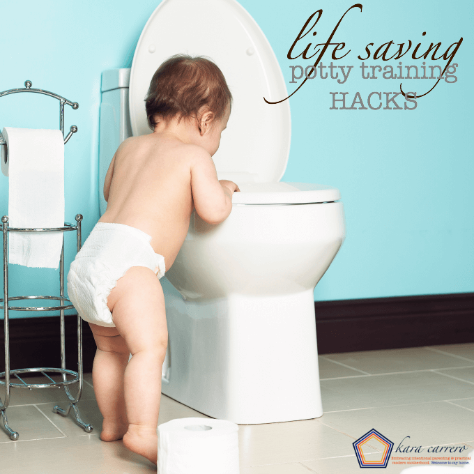 10 life saving potty training hacks you probably hadn't thought of!