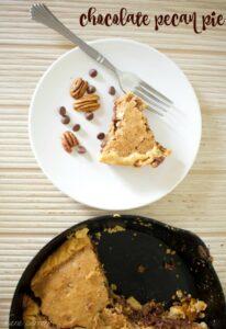 The best chocolate pecan pie recipe