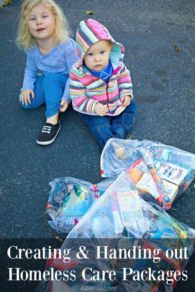 how to make winter care packages for the homeless. Our adventures family adventures in helping give back to our Boston community.