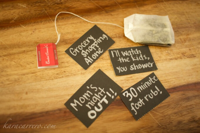 diy mom gift from toddlers prechoolers and dad