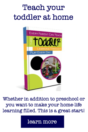 teach your toddler and preschoolers at home how to start guide