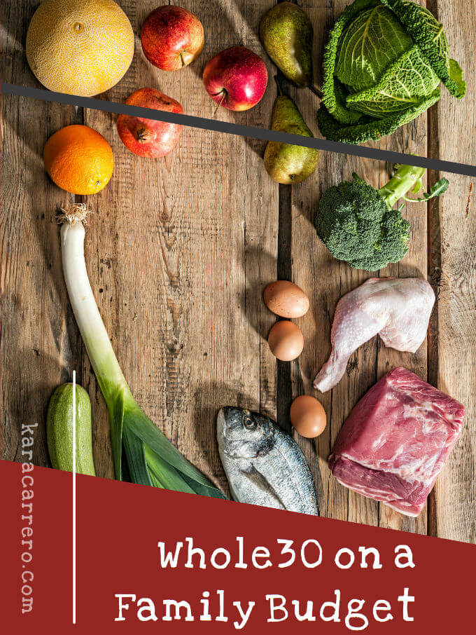 whole30 on a family budget