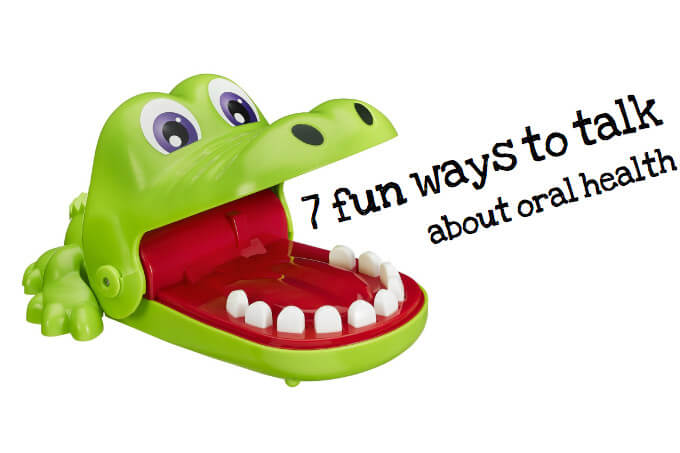 Fun toys and ways to talk about oral health and dental hygiene