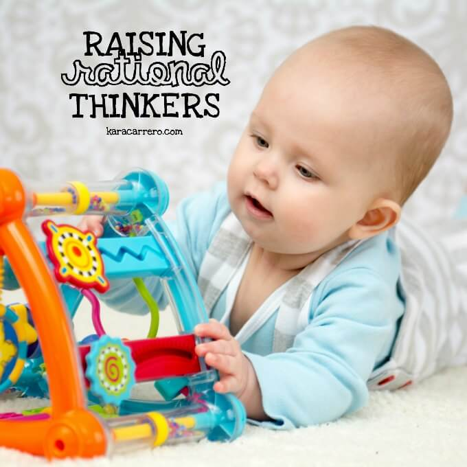 how to raise a rational thinker