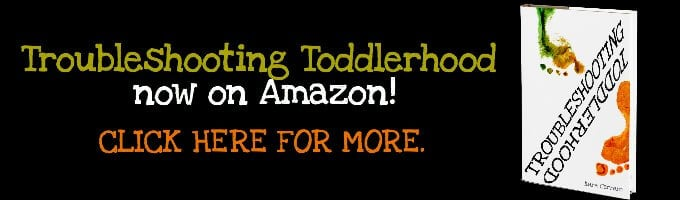 Troubleshooting Toddlerhood peaceful parenting book