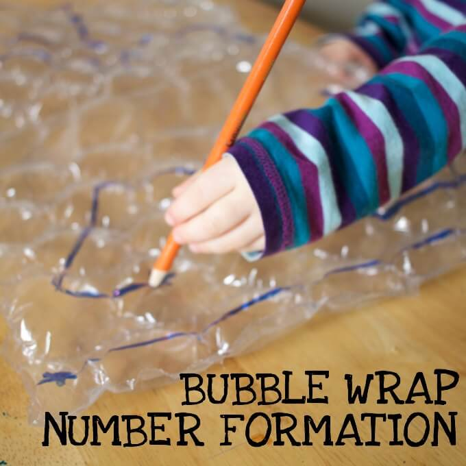 bubble wrap number formation popping game