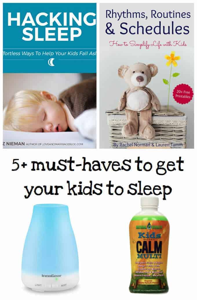 Must have books and products to help your kids sleep better