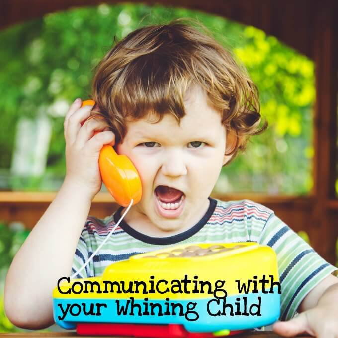 how to get your kid to stop whining