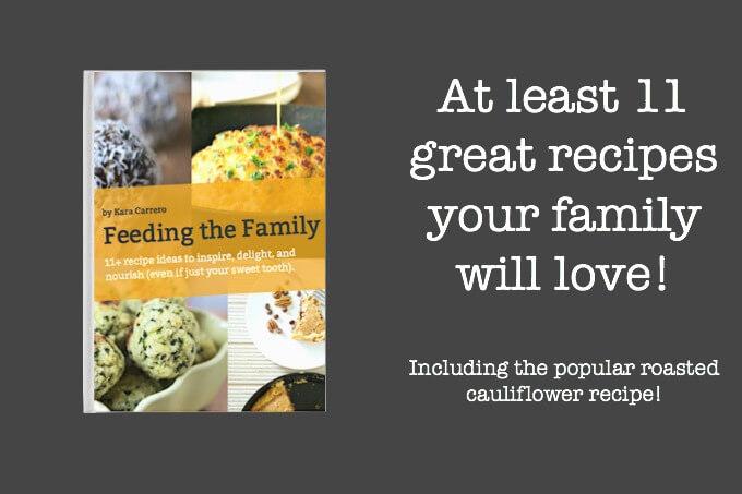 Feeding the Family PDF ebook Kara Carrero