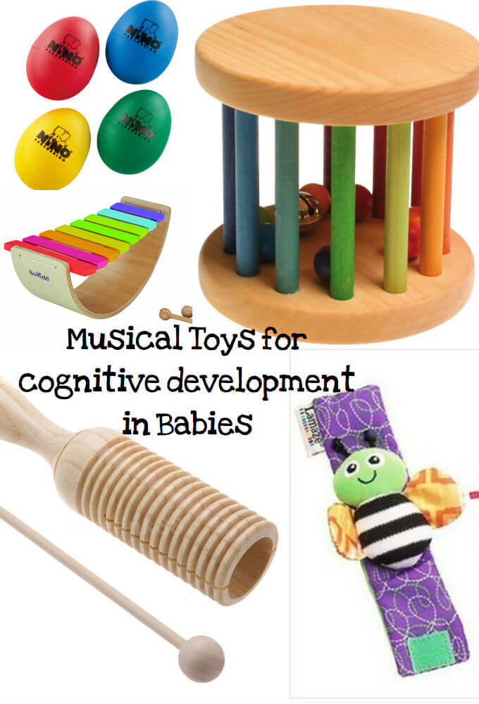 Musical toys for babies and how they help them develop cognitively