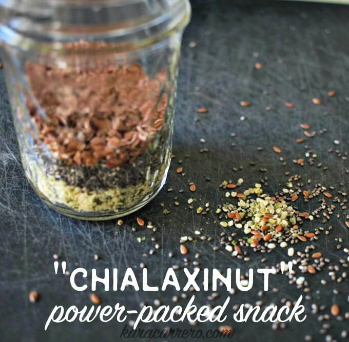 A powerpacked snack that whole30, paleo, and vegan friendly. Anyone can eat it as it's a food-based protein rich breakfast or anytime idea. Full of brain and body boosting fatty acids!