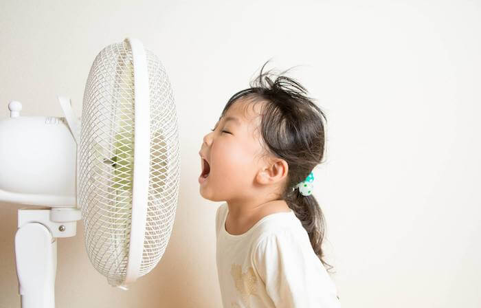How to survive sweltering heat as a family