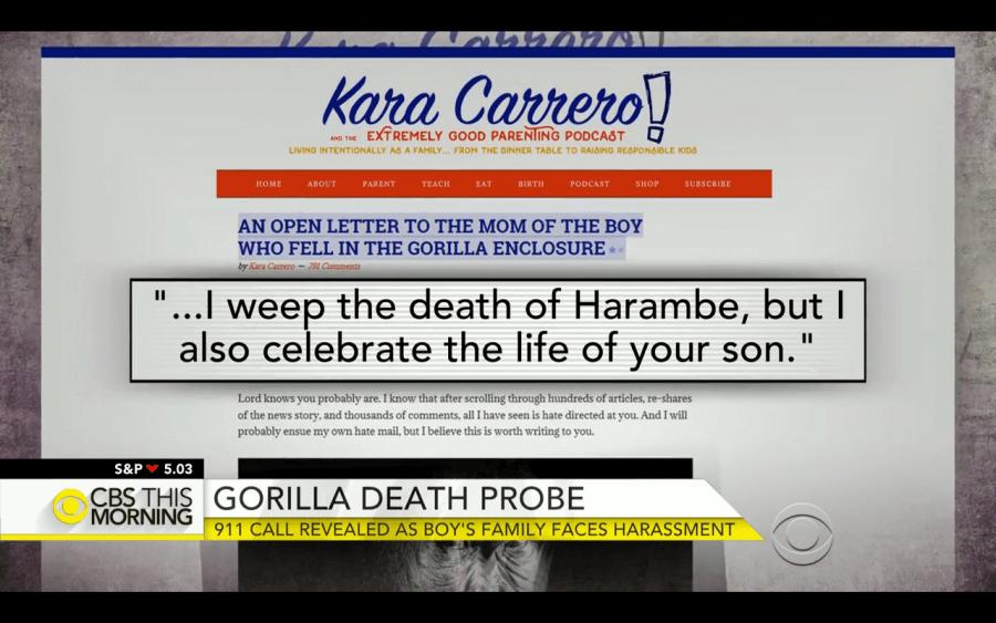 Kara Carrero on CBS morning news