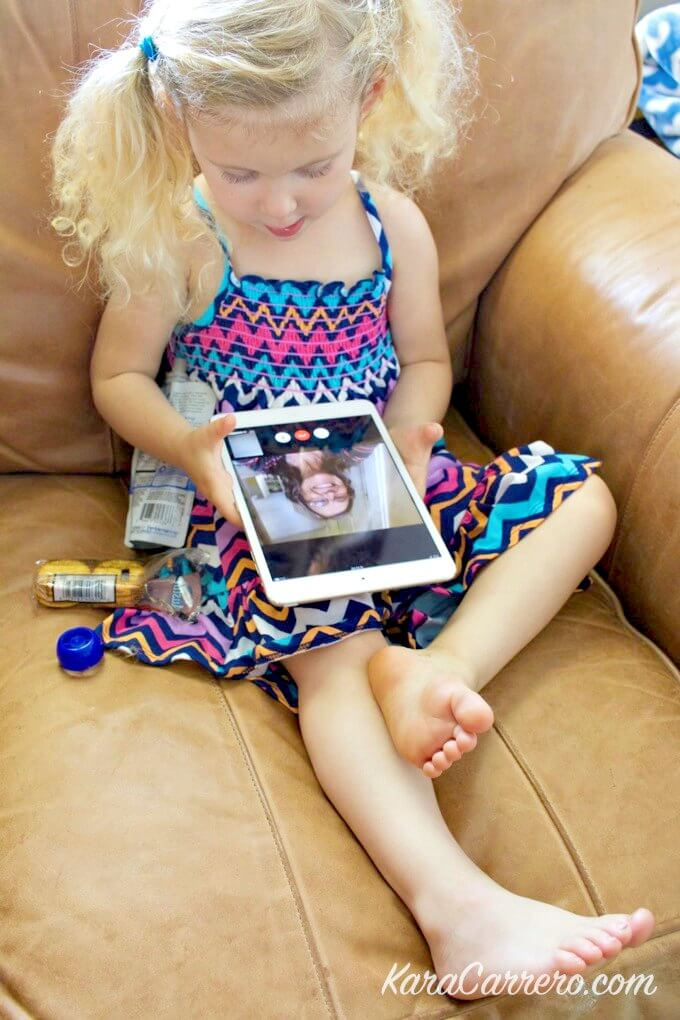 Why facetime is a great tool when sharing a family ipad.