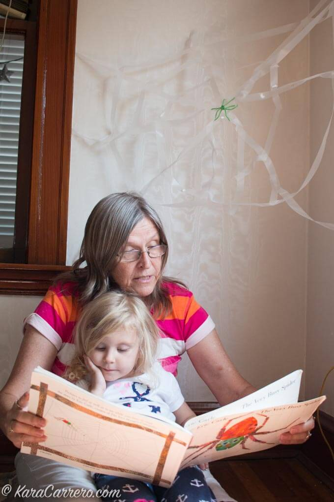 Books about spiders for young learners