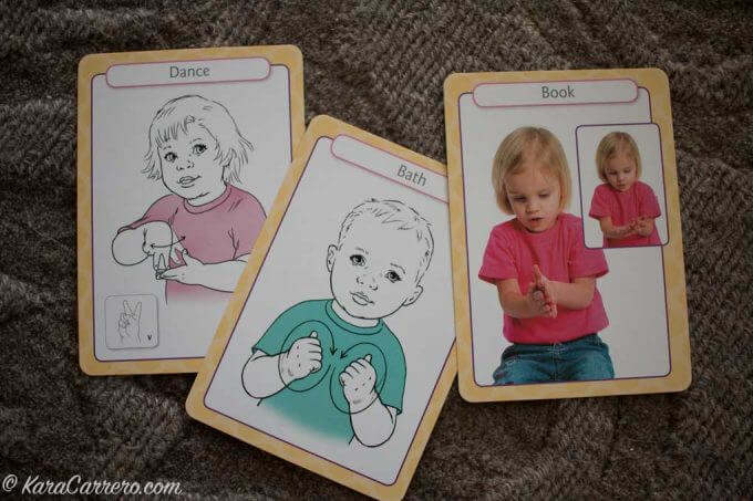 Using visual aids to help toddlers communicate
