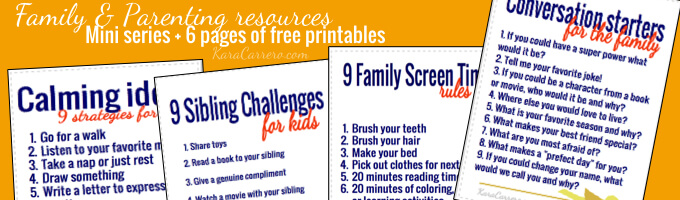 Click for pop-up to sign up to get a free mini-series and resources for parents and families.