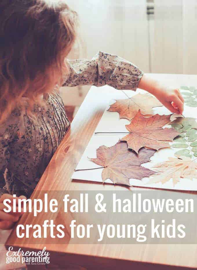 Easy Non Scary Fall Halloween Crafts Decor To Create With Kids