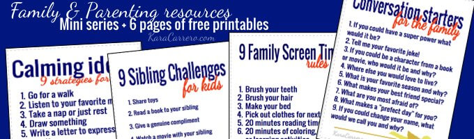 Click for pop-up to sign up to get a free mini-series and resources for parents & families.