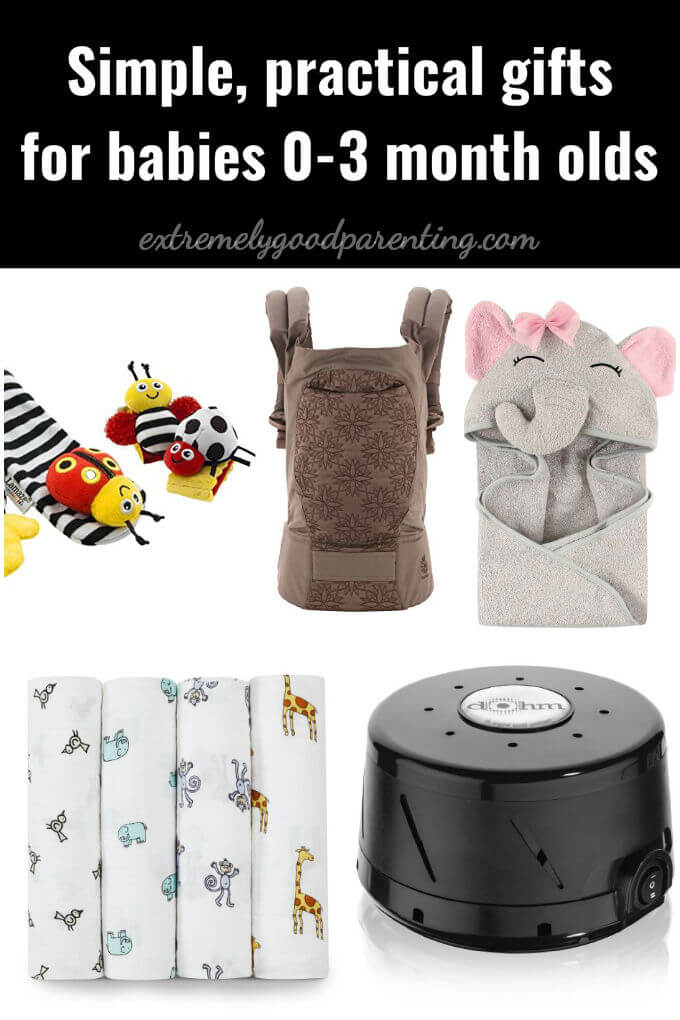 Practical gifts for newborn babies 0-3 months old.