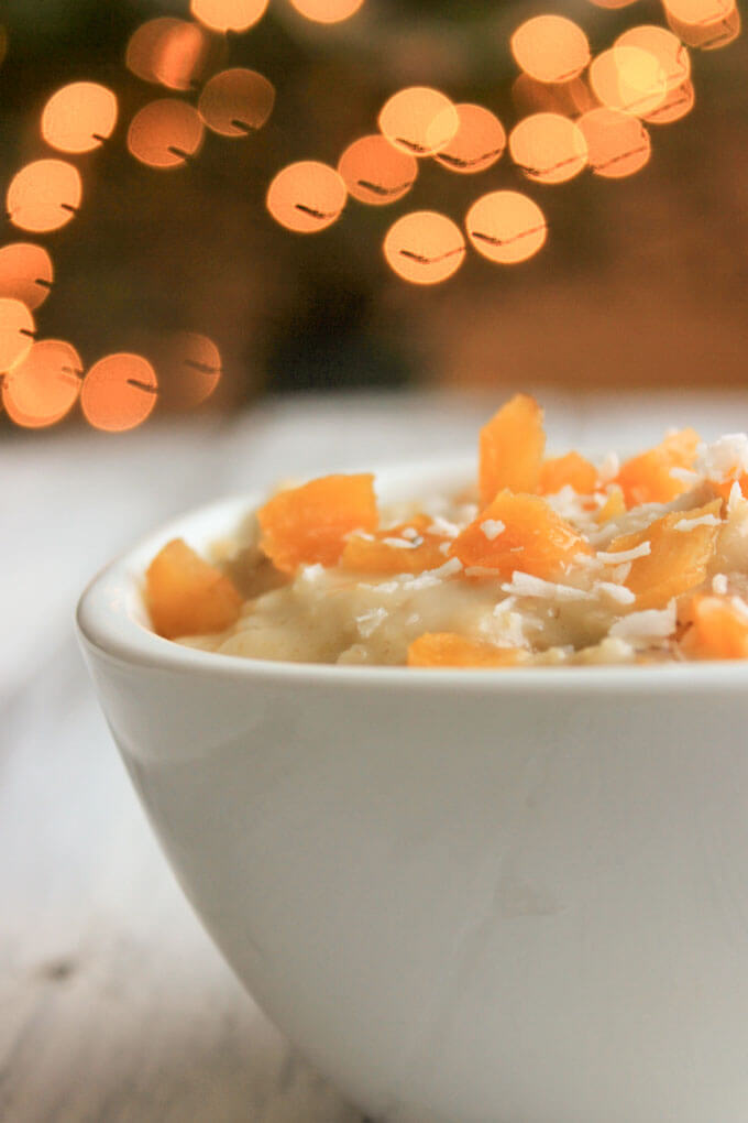 Apricot Oatmeal from tiny tummy tales