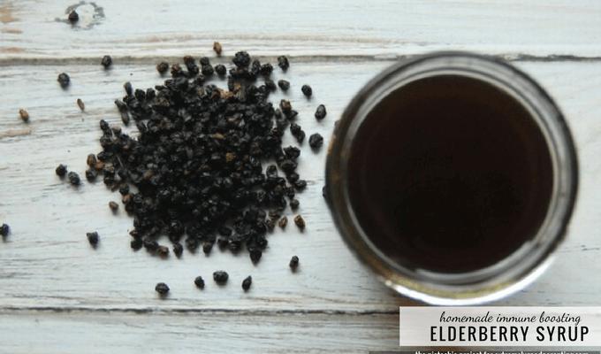 DIY black elderberry preventative and natural remedy