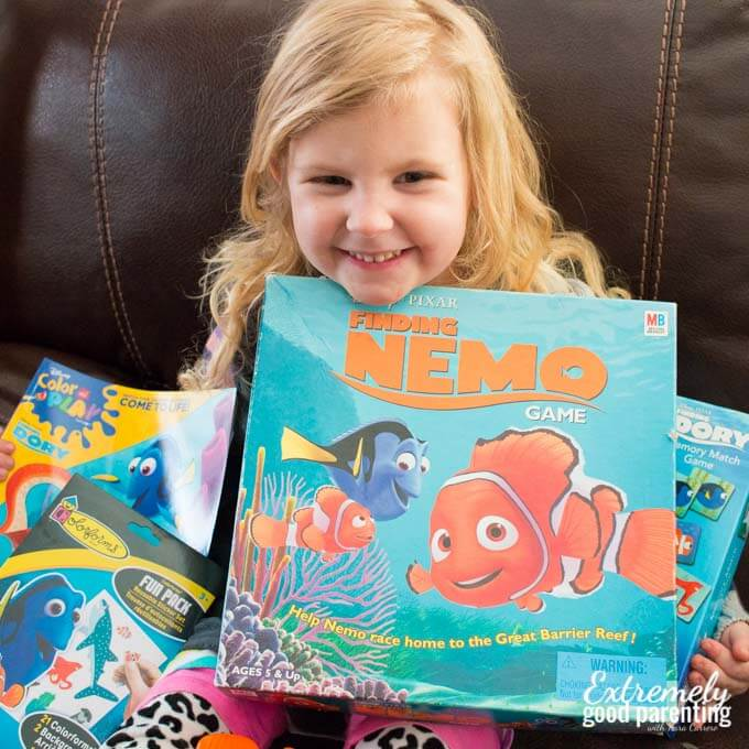 Finding Dory gift ideas for kids