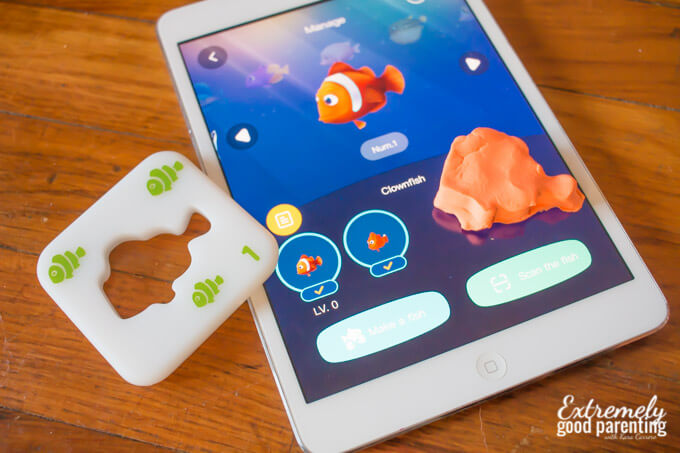 ipad play doh clay molding set - Ocean Pets by Pai Technologies