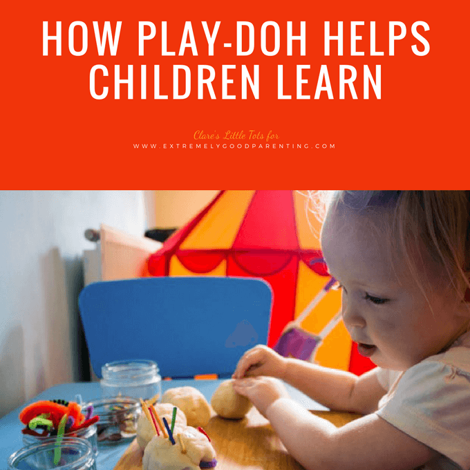 The benefits and learning experiences gained from playing with play dough