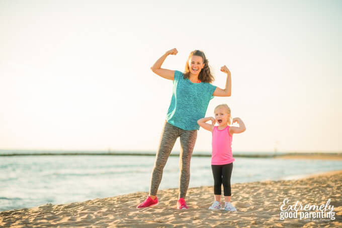 Making fitness goals isn't a mom resolution, it's a commitment to our kids