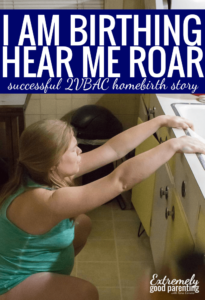 Successful VBAC and home birth story - inspiring story of mom who gives birth to her first son at home.