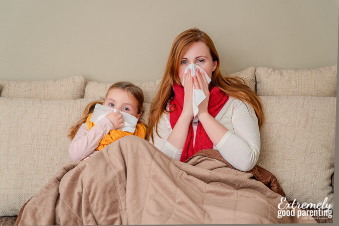 Stop spreading germs! Winter Essential Oils for the whole family