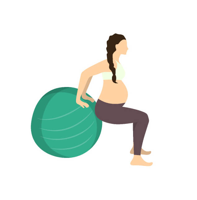"Stability Ball For Labor: Dread The ""mom Sneeze""? How To Strengthen The Pelvic Floor"