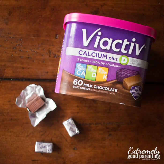 Viactiv calcium chews for pregnant women who gag!